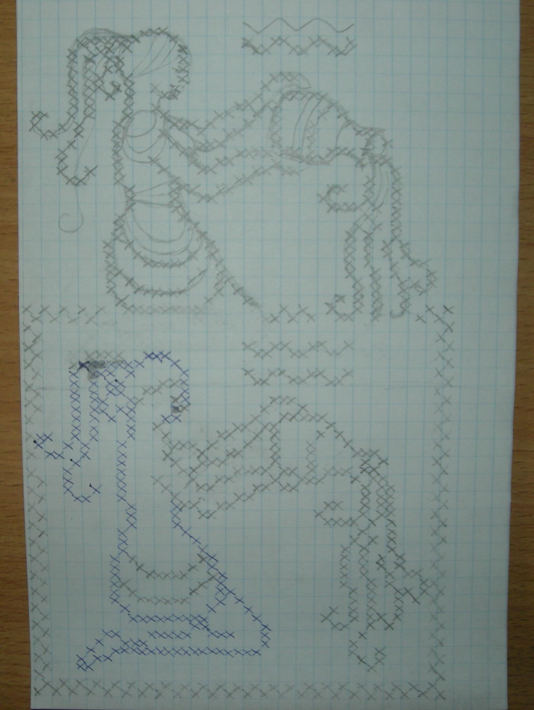 водолей схемы для вышивания