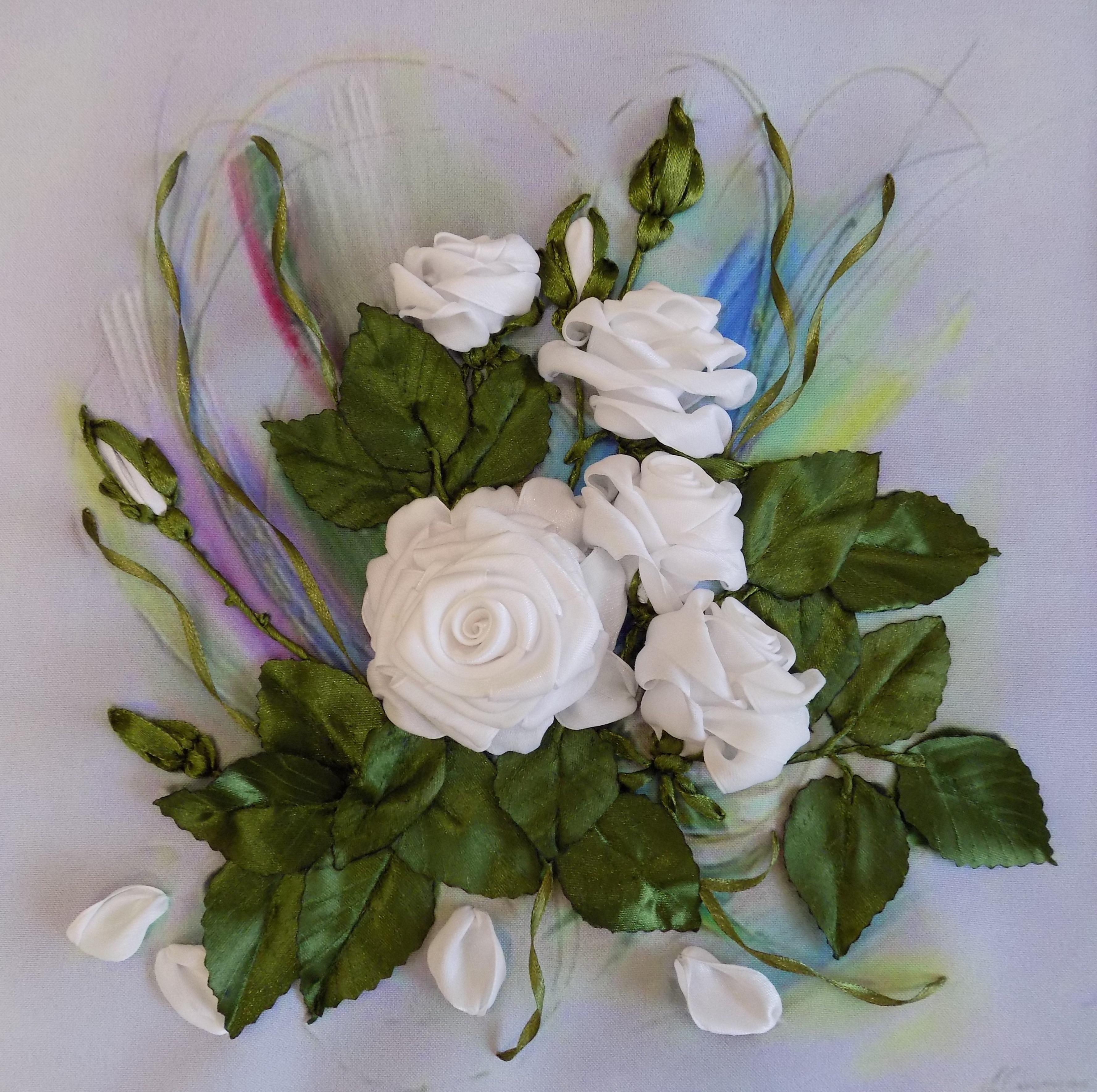 Розы принты для вышивки