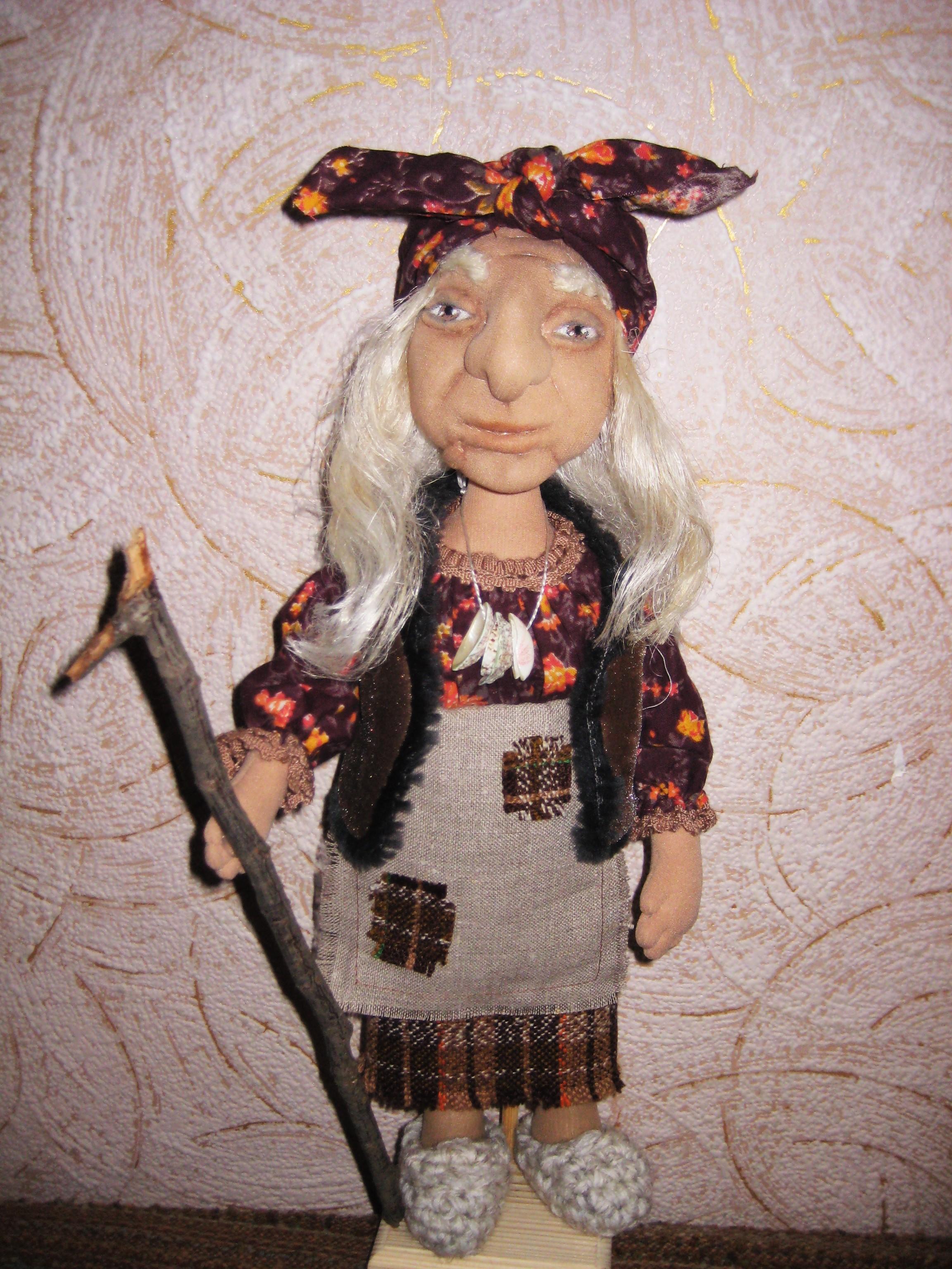 Как сделать куклу Баба Яга своими руками 51