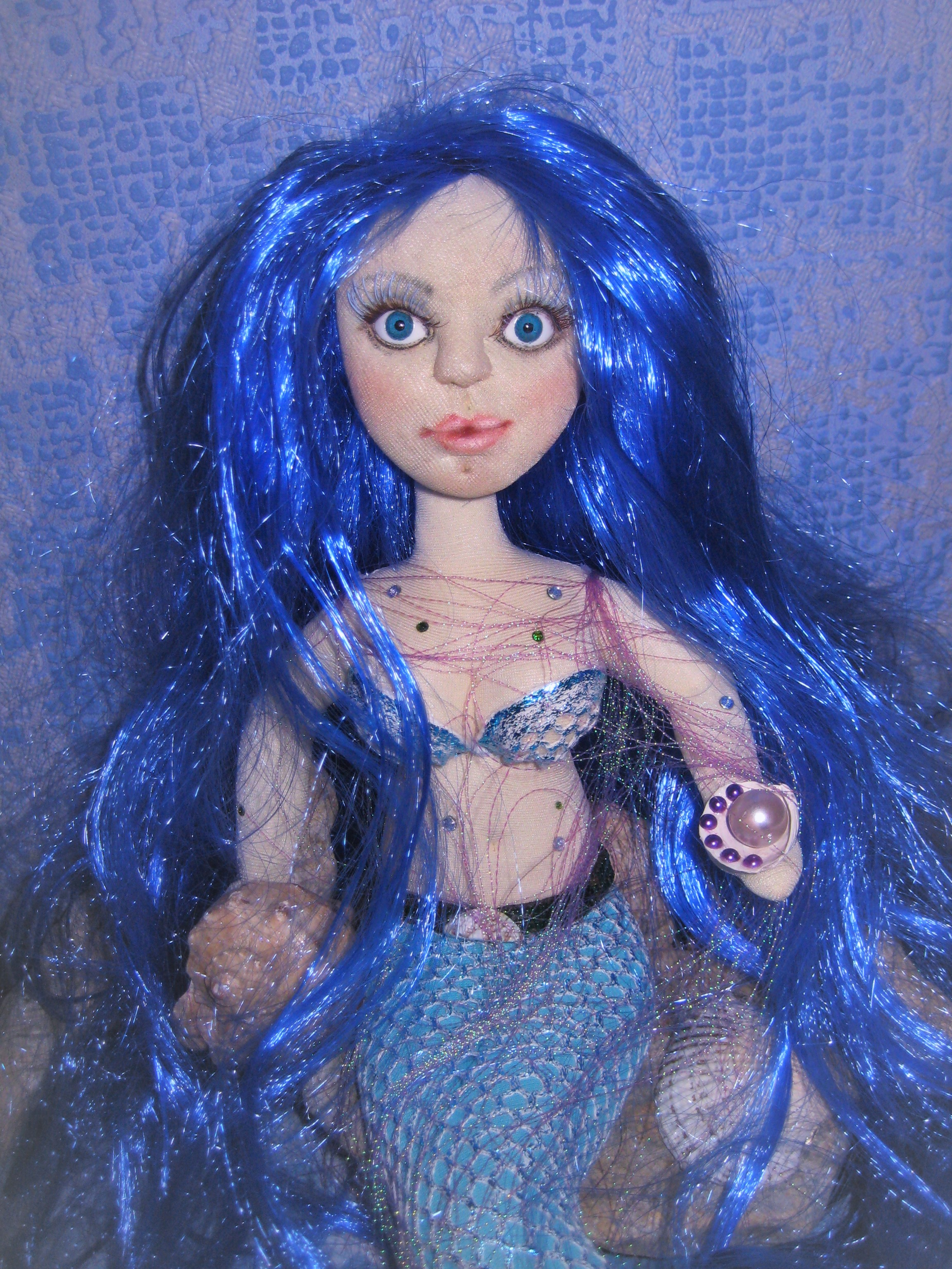 Как сделать куклу-русалку как 62
