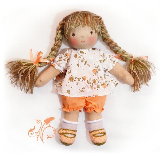 Изначально вальдорфские куклы