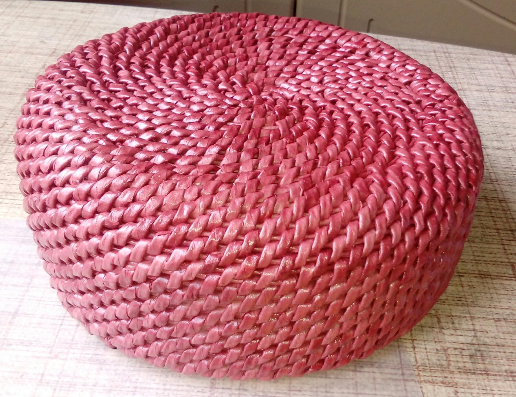 Плетение из трубочками обучение