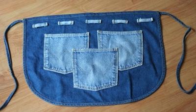 поделки из старых джинсов