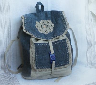 Декор рюкзаков своими руками