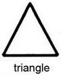 треугольная игла
