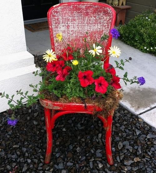 Как на даче посадить цветы