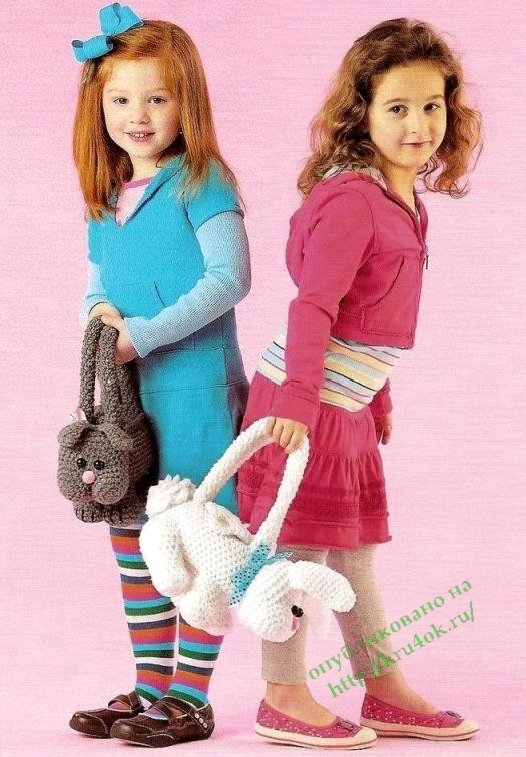 Сумочки для девочек в форме животных (базовое описание)
