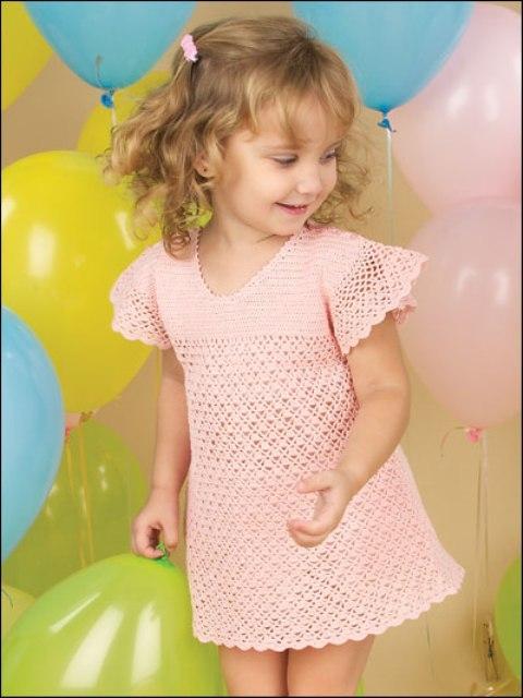 Платье для девочки на 2-4 года