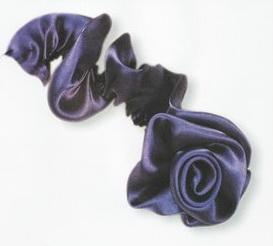 Как сделать цветы из ткани - мастер-класс