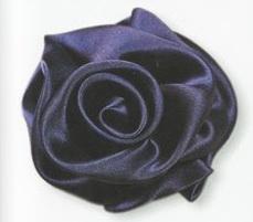 Роза из атласной ленты своими руками - мастер класс