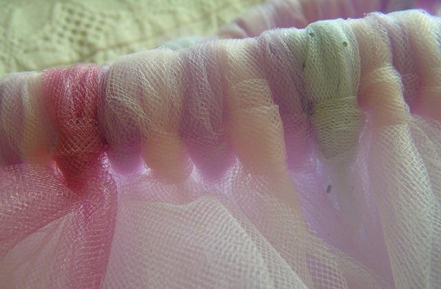 Пышная юбочка из ткани