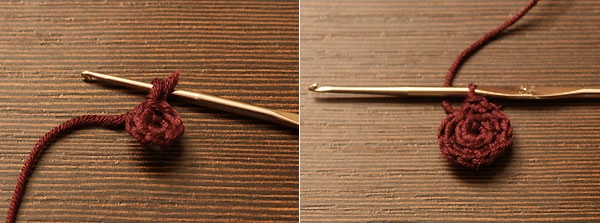 Вязание крючком бус