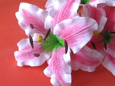 лилии из фоамирана фото