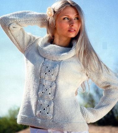 Украшением этого свитера