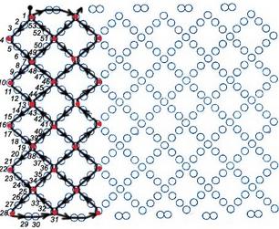 Плетению широких браслетов из бисера
