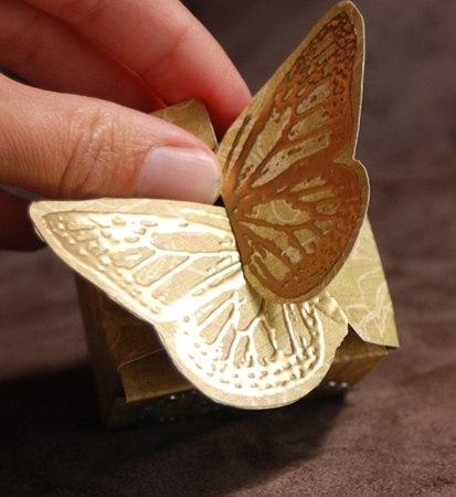 Оригинальная упаковка Бабочка