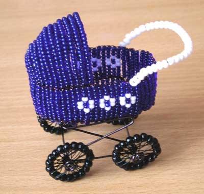 Поэтому мы с хотим представить вашему вниманию урок по созданию коляски из бисера.  Мы надеемся, что...