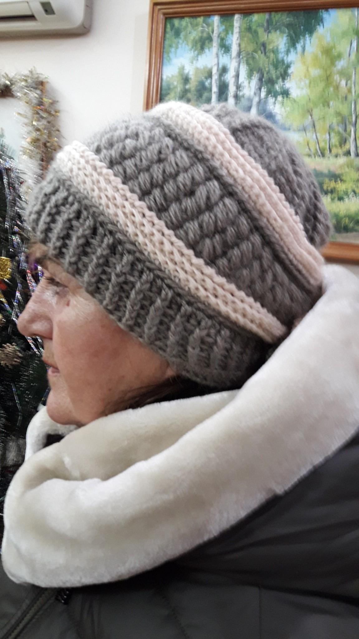 Женская шапка и берет спицами или крючком - Результаты из #90