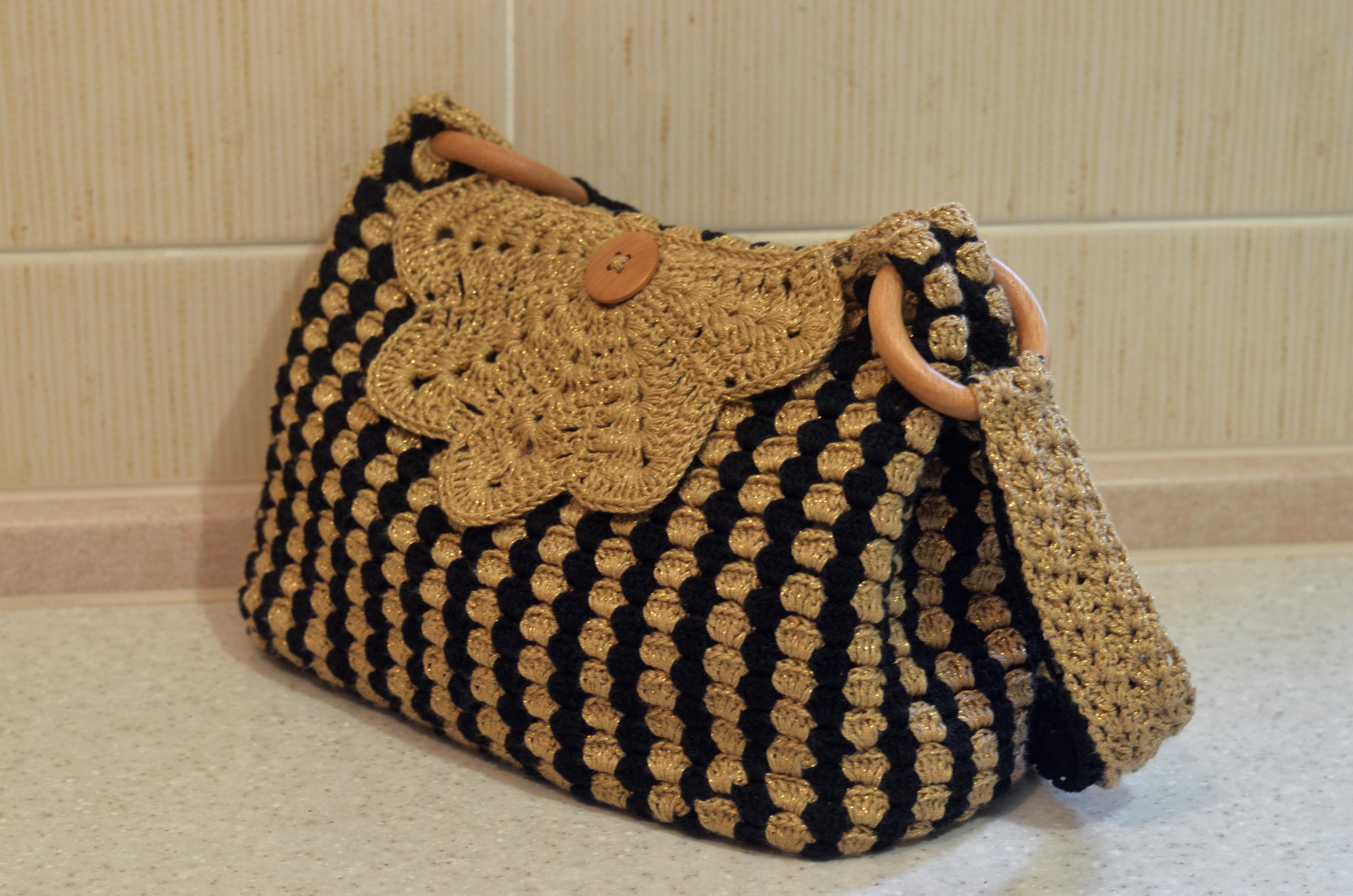 летние сумочки вязаные крючком схемы