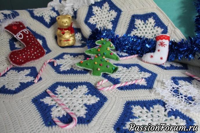 Плед для малыша...или малышки, плед детский, плед детский крючком, детский плед крючком, детский плед, шерстяной плед, плед новогодний, плед для малыша, плед со снежинками, плед