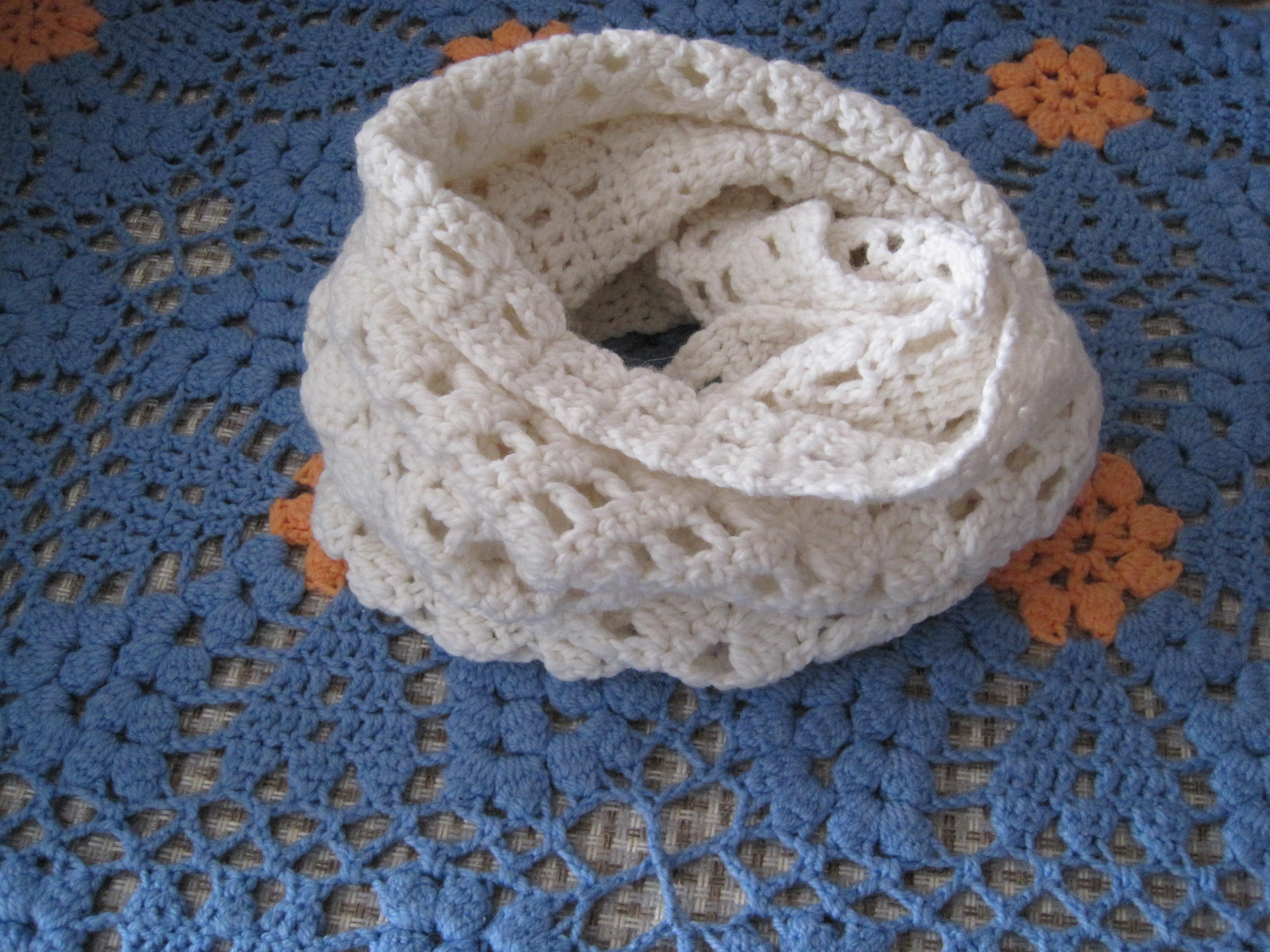Фото шарф снуд вязаные крючком
