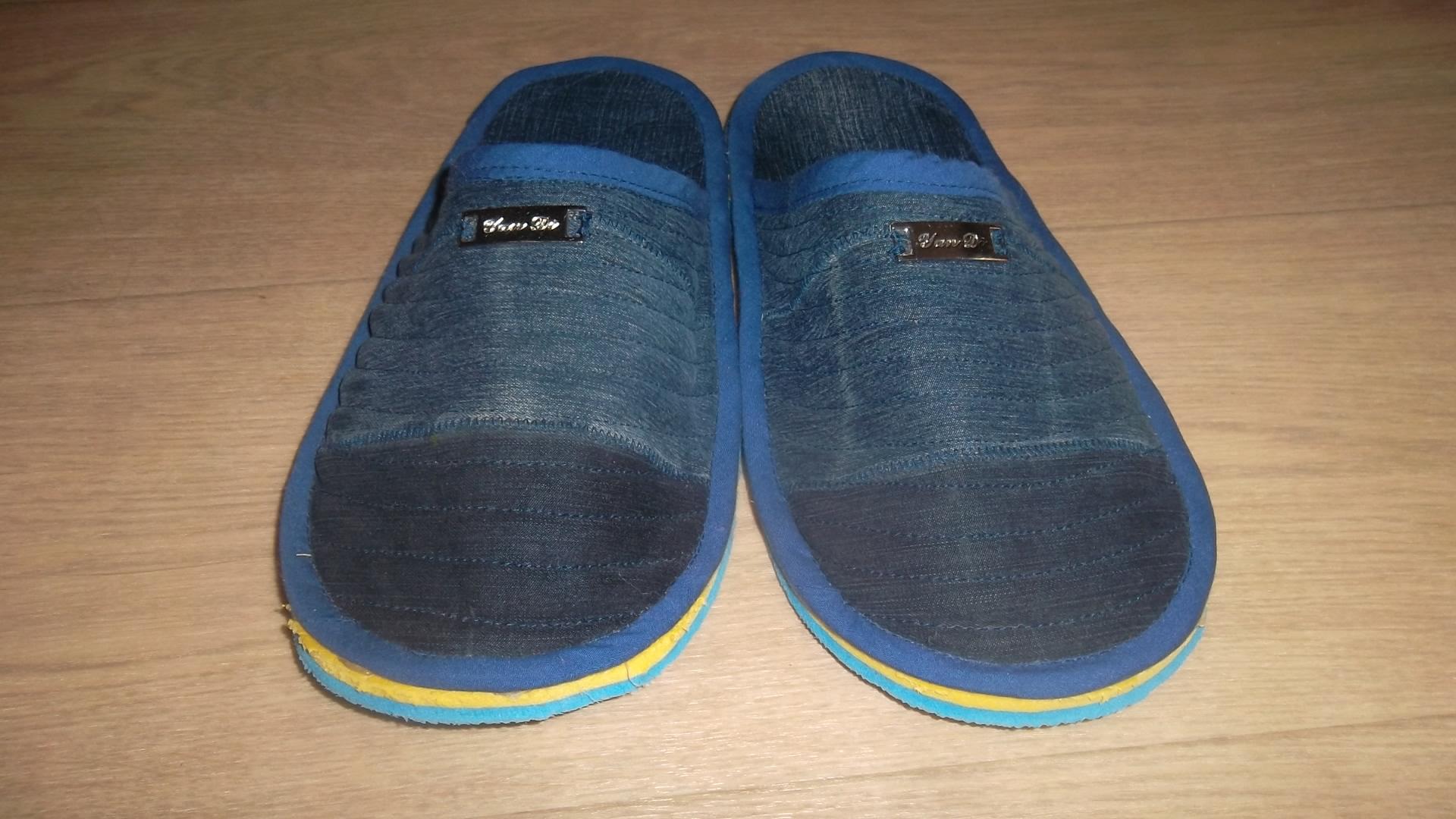 Как сшить джинсовые тапочки