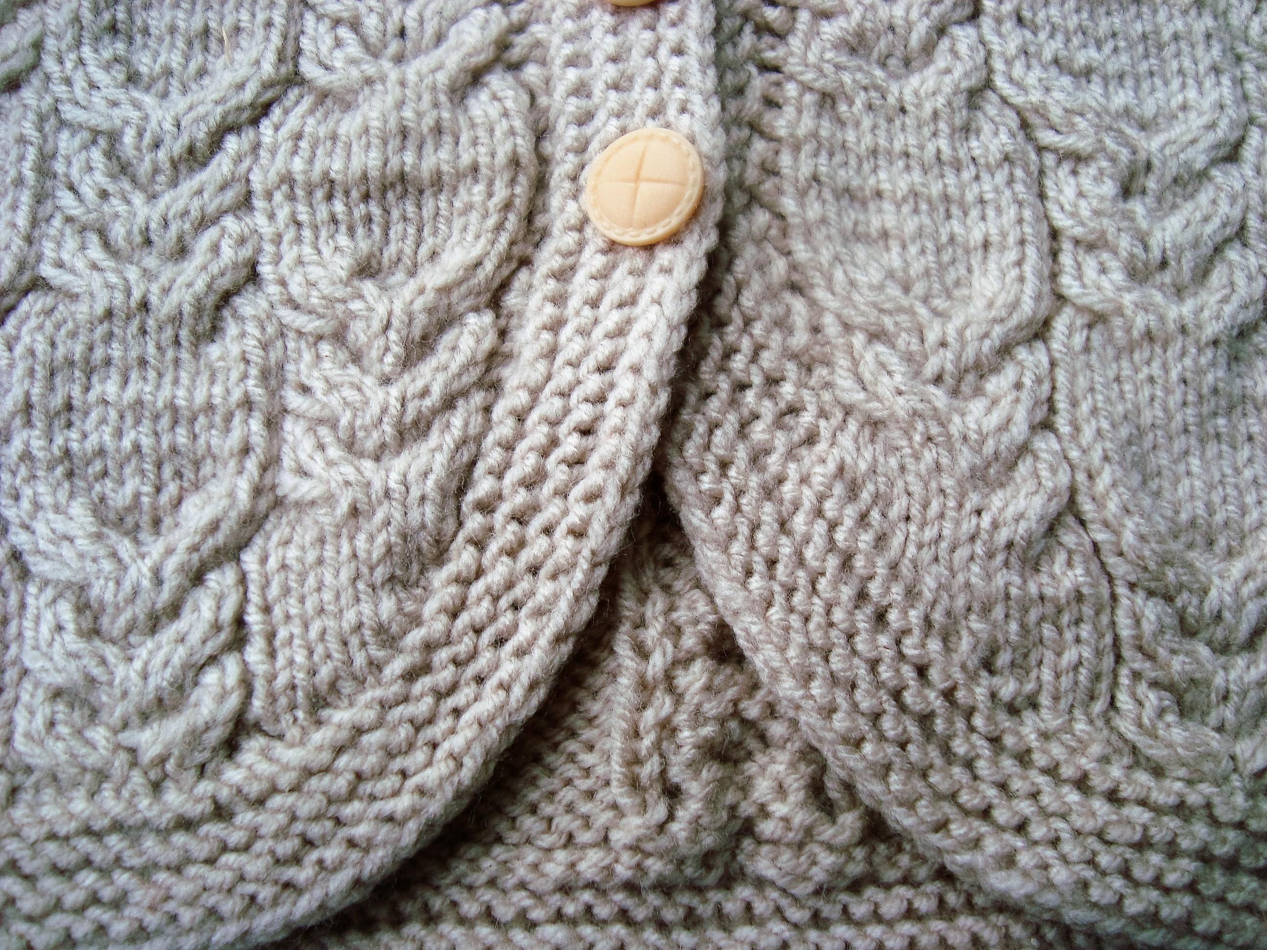 Вязание спицами складочки гармошки