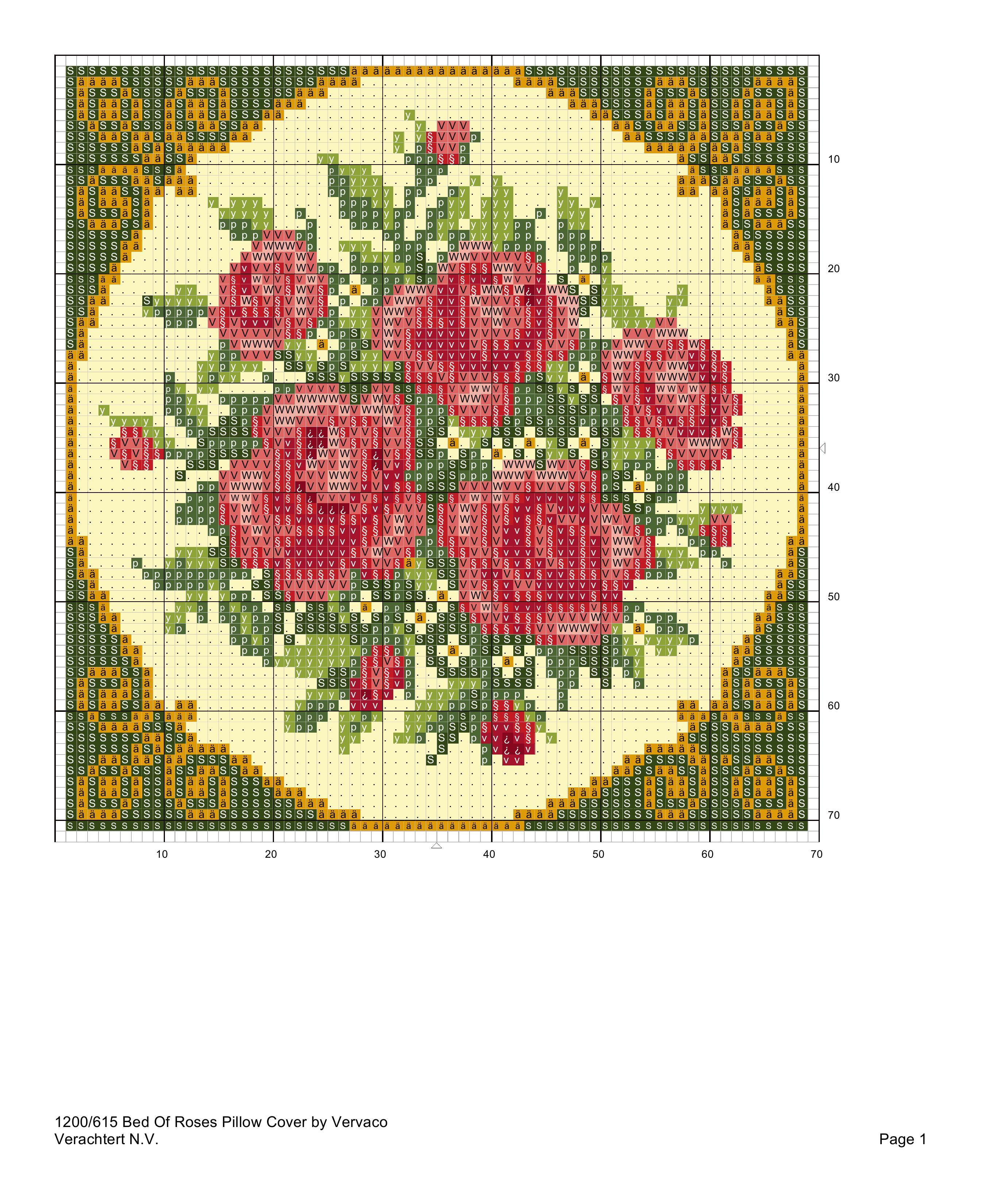 Вышивка крестиком схемы вышивки подушки 872
