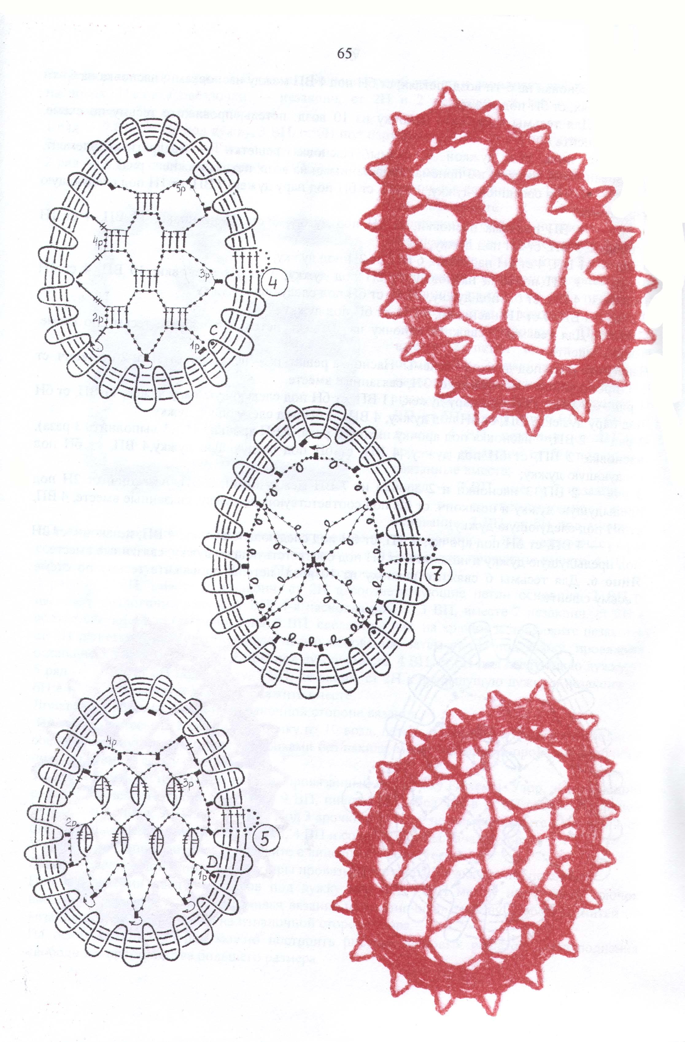 Брюггские кружева схемы узоры
