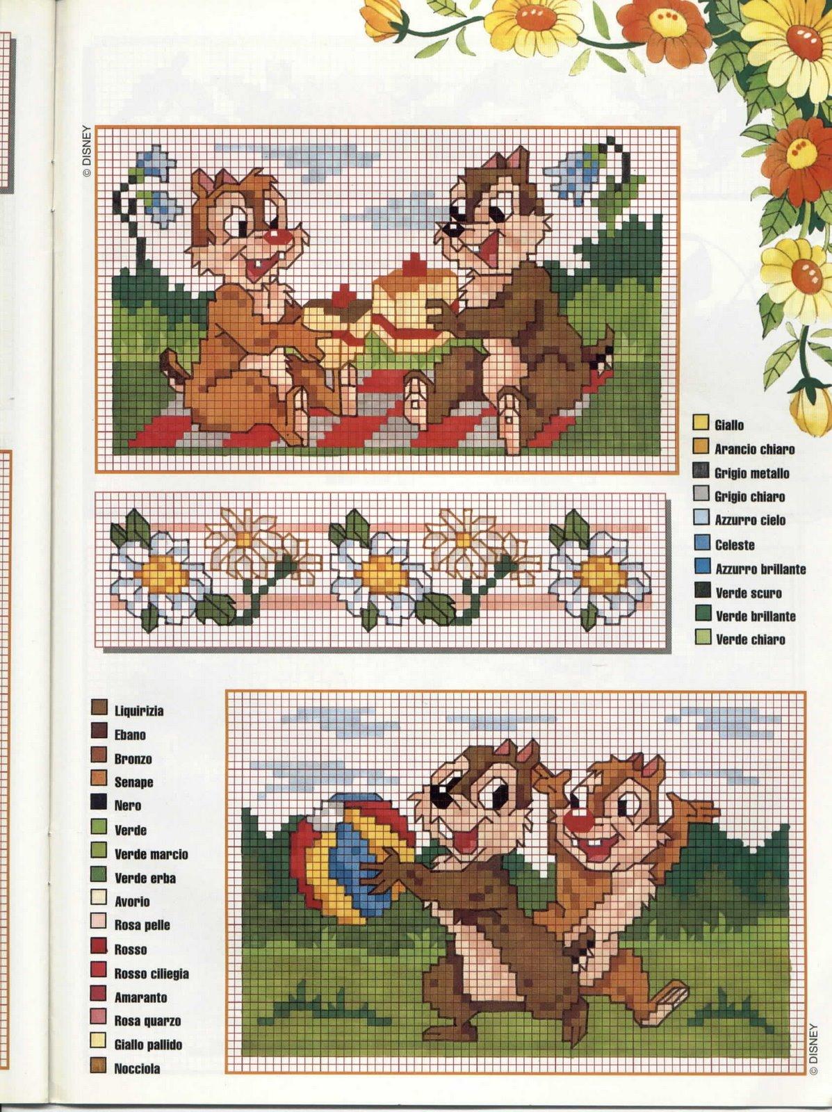 Журналы вышивка детям схемы 1