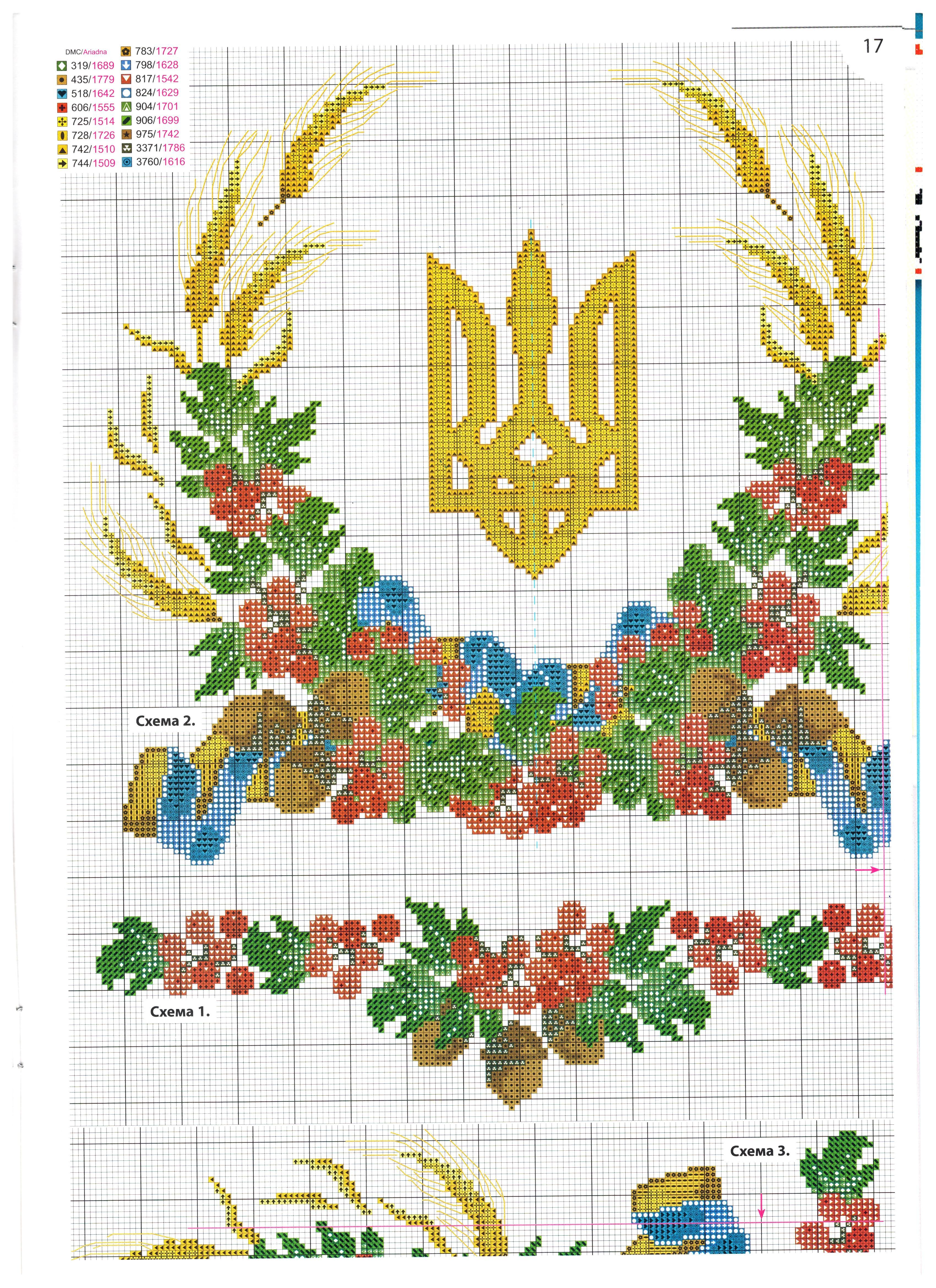 Все об украинской вышивке крестом