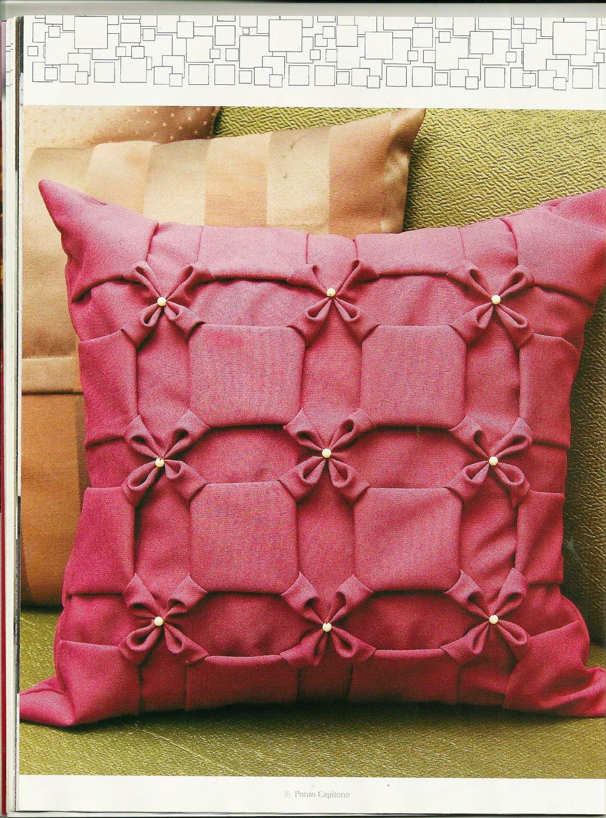 Декоративные диванные подушки своими руками фото с выкройками фото