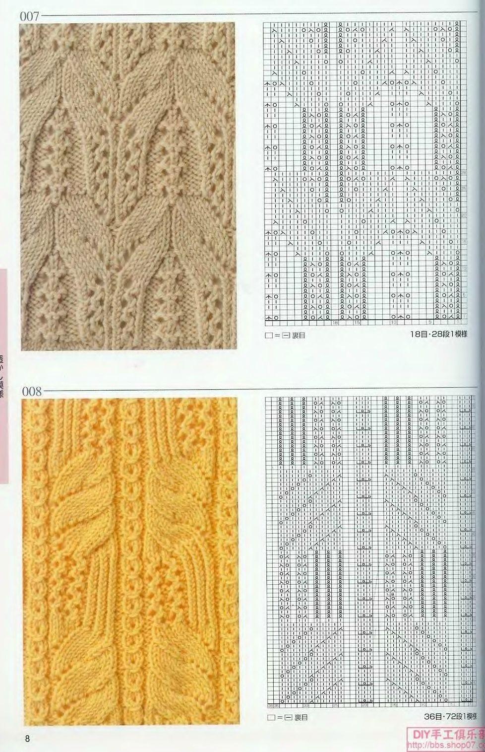 Очень красивый узор для вязания спицами 26
