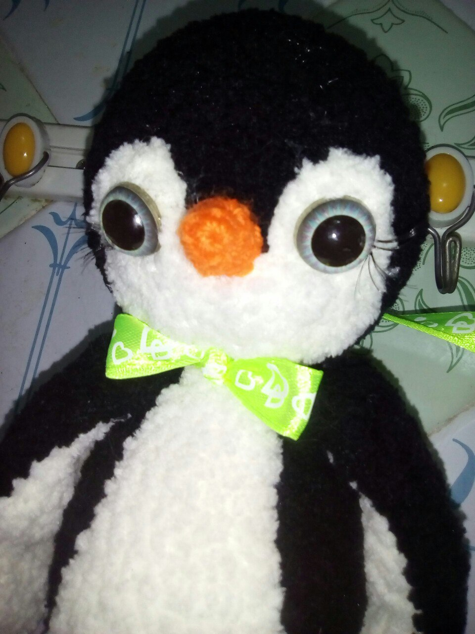 пингвин схема вязания крючком
