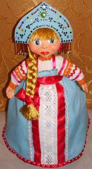 Кукла в кокошнике сшить
