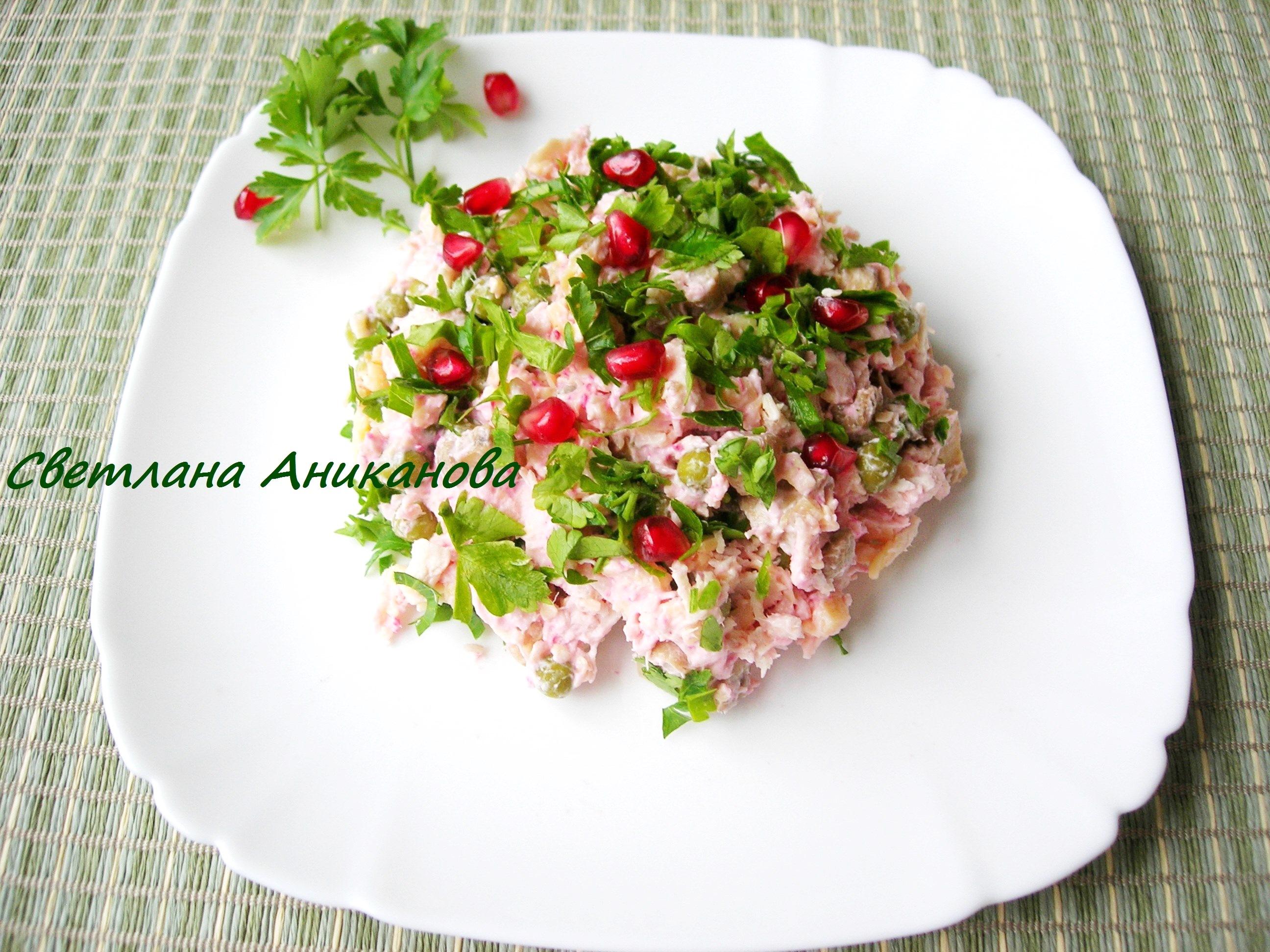 Салаты с майонезом и курицей рецепты с простые и вкусные
