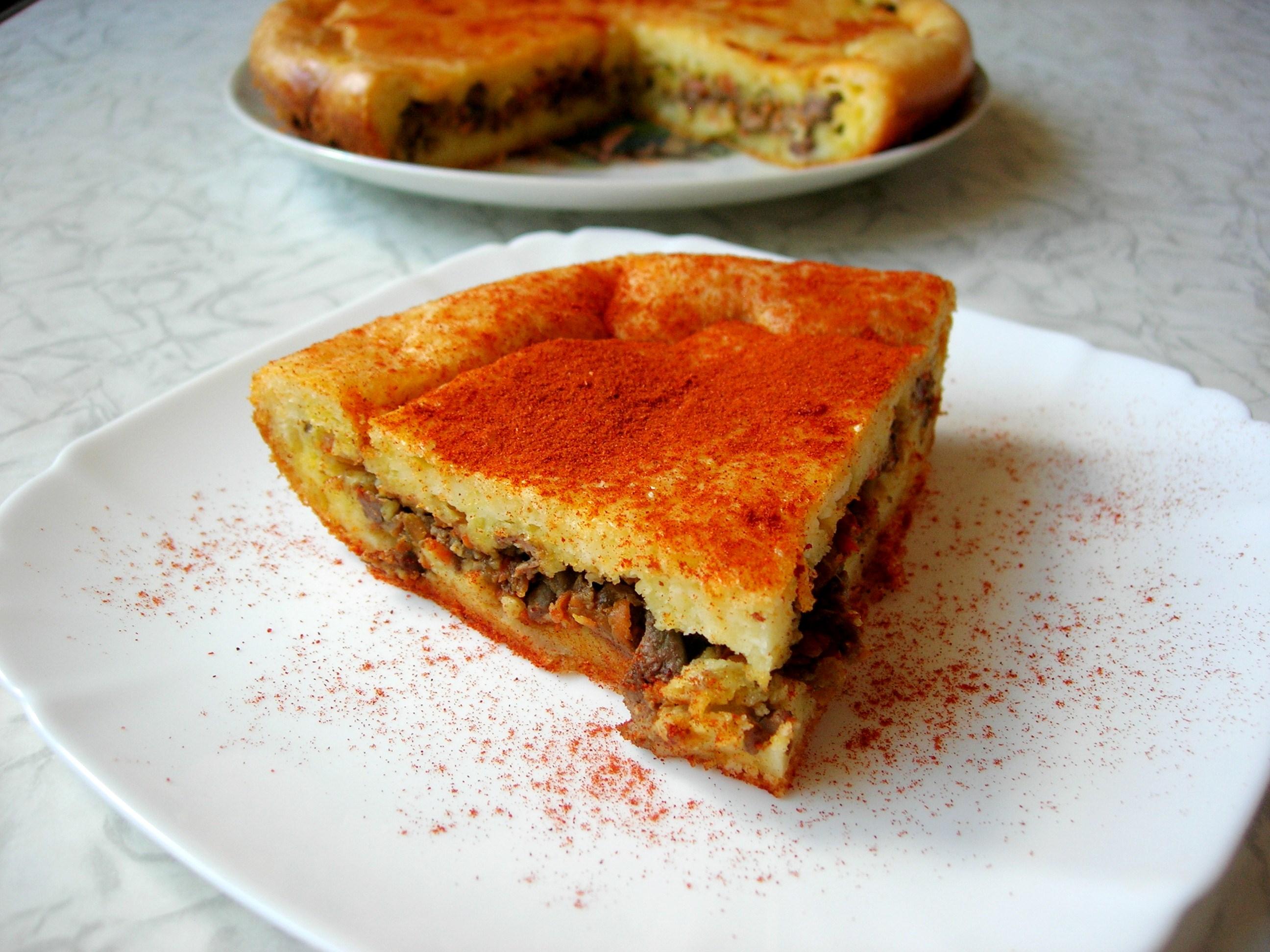 Заливные пироги несладкие рецепты