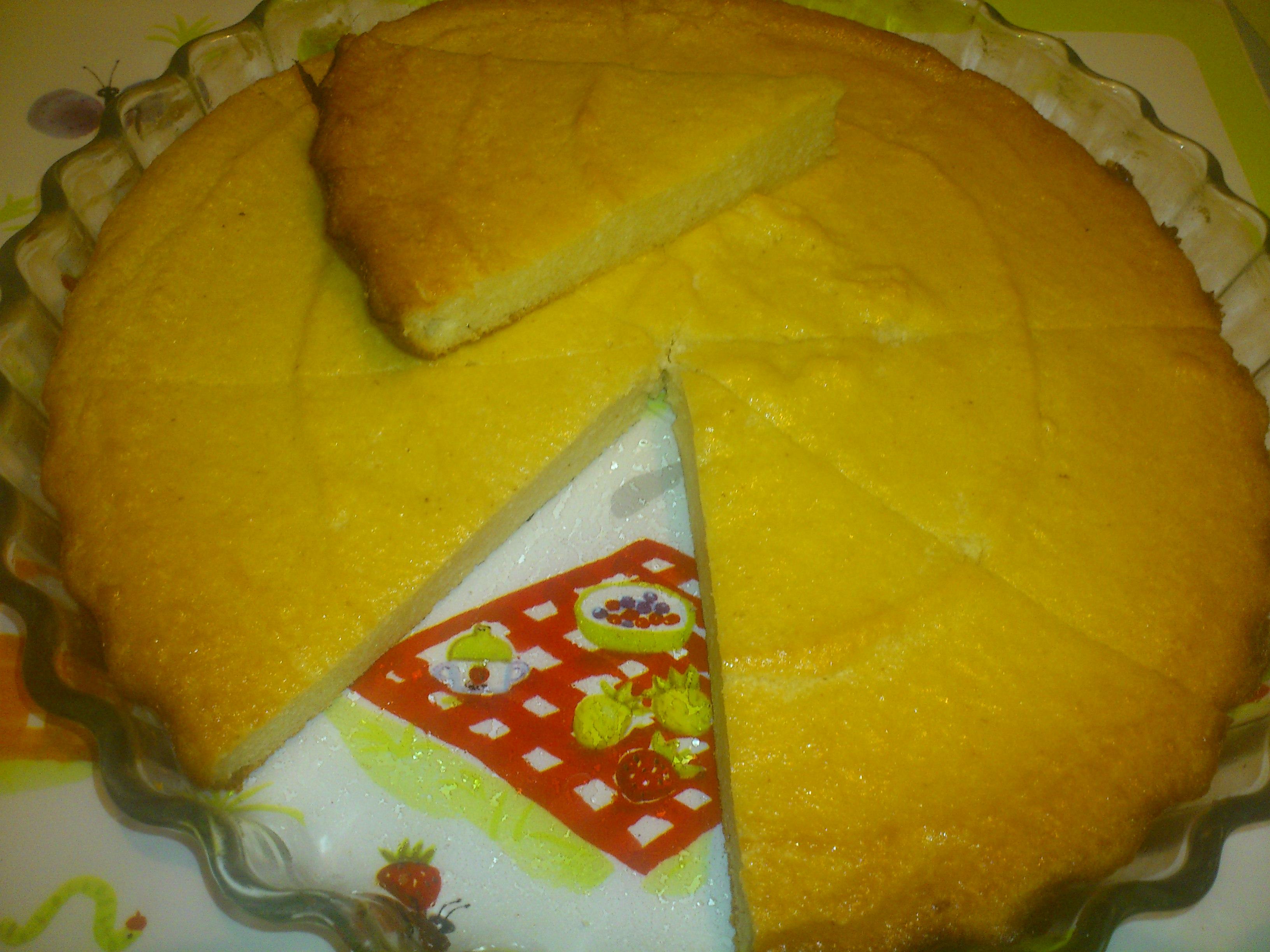 Первый рецепт торта