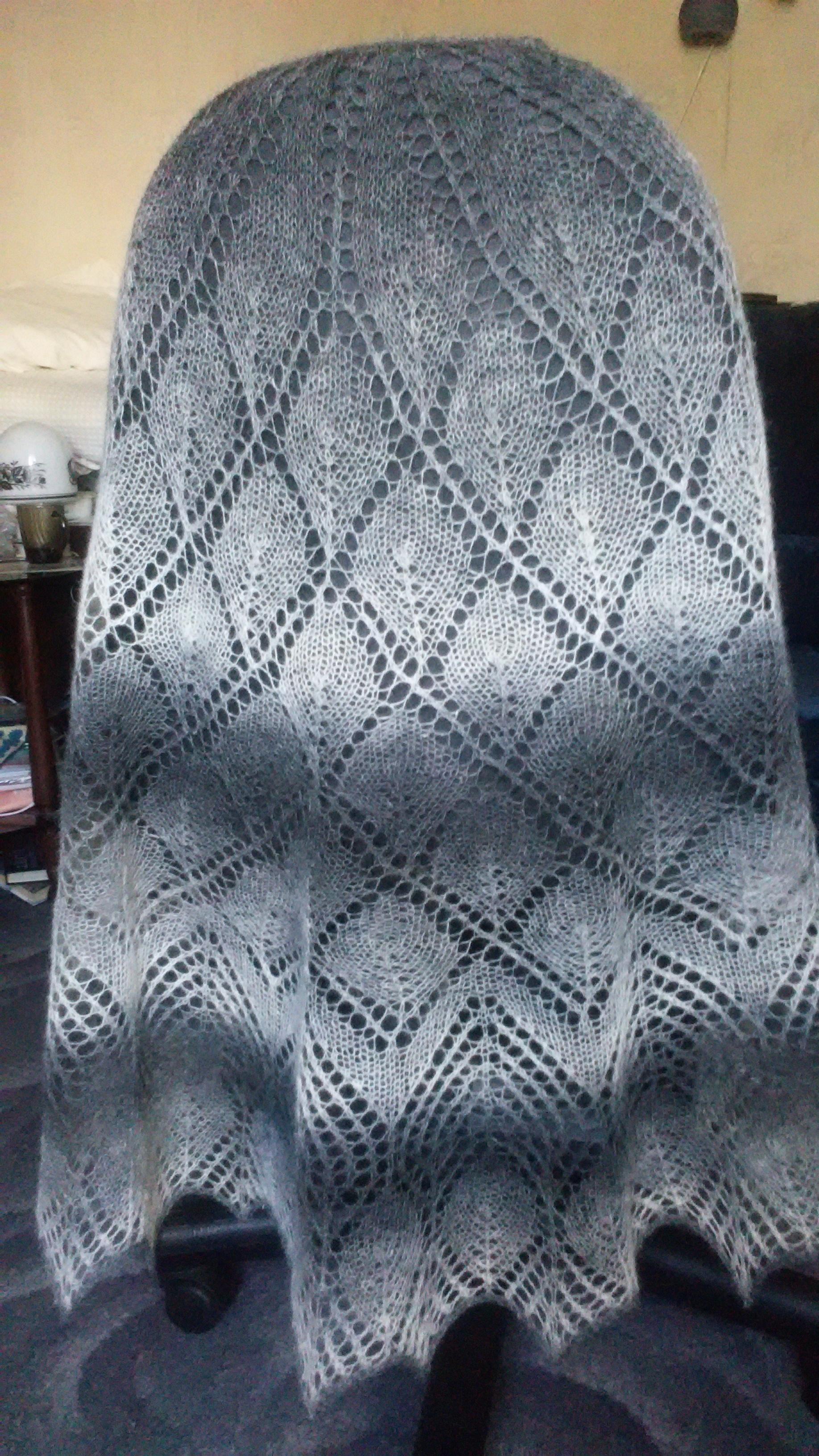 Схемы шалей на дариевне