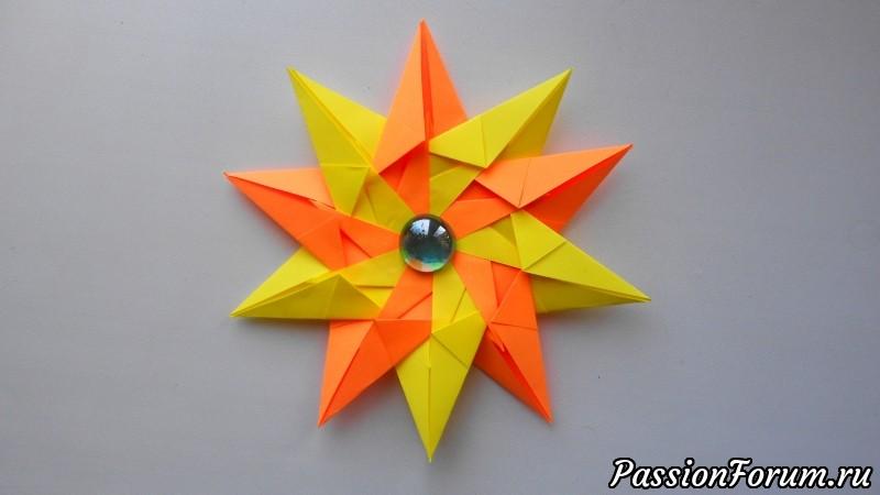 Оригами звезда из бумаги, оригами, звезда из бумаги