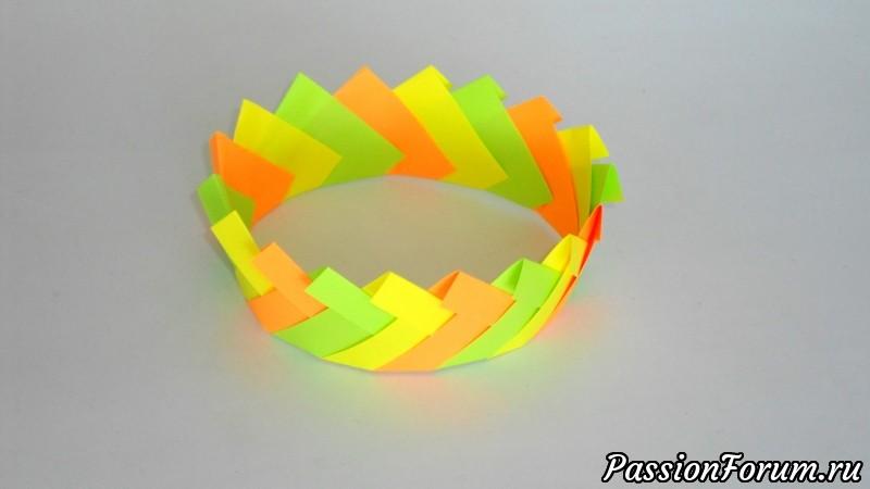 Оригами корона из бумаги, оригами, корона из бумаги, поделки из бумаги