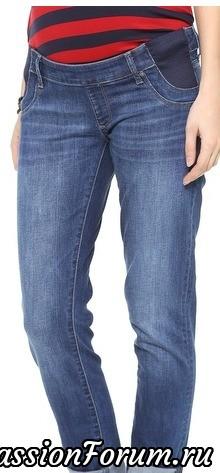 трикотажная вставка или широкая резинка спасёт джинсы, если они вам малы в талии