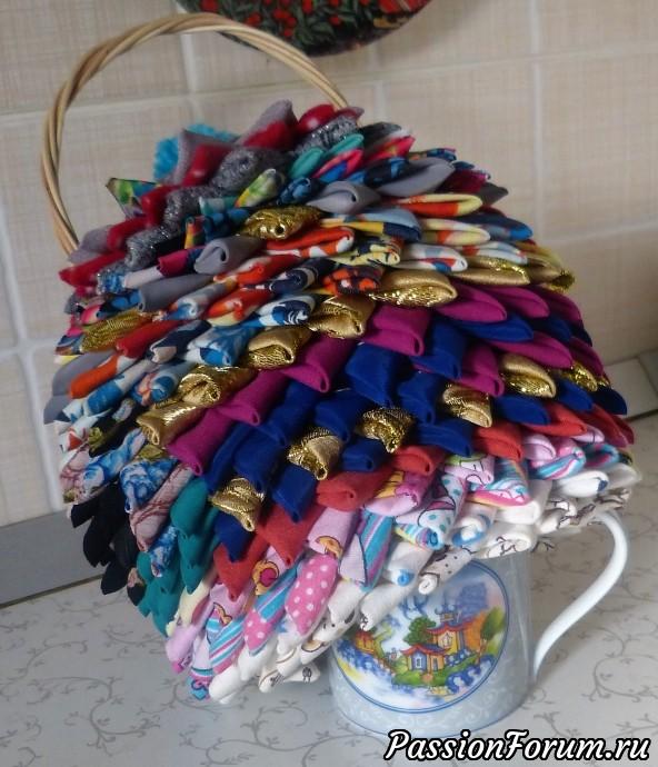 Грелка на кружку., шитьё, лоскутное шитье, грелка для кружки, подарки для женщин