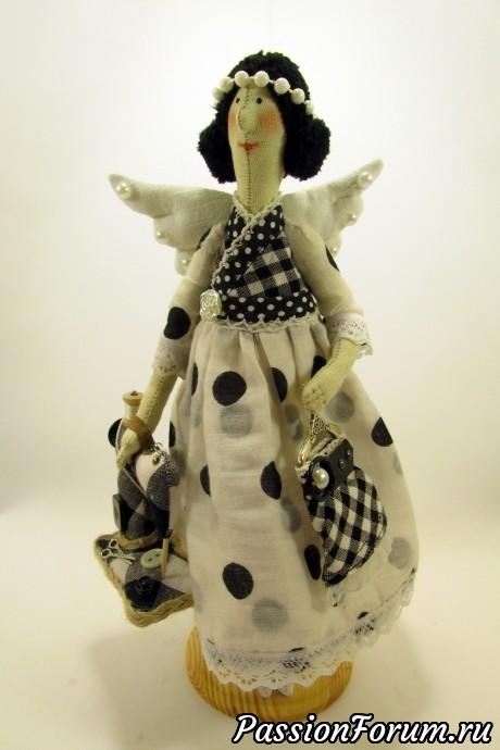 "Тильда-швейный ангел, тильда "" домашний ангел"", тильда швейный ангел., подарок маме, подарок подруге, подарок на 8 марта."