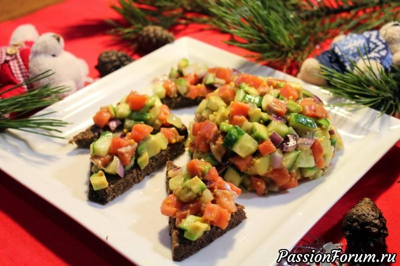 Закуска а-ля тар-тар из лосося, тартар, тар-тар, тар-тар из лосося, тартар из лосося, закуска из лосося, закуска из красной рыбы, новогодний стол, новогодние закуски, тар-тар из семги, тартар из семги, а-ля тар-тар, рыбный тар-тар, лосось и авокадо, салат с красной рыбой, салат с лососем, еда проста, edaprosta, лосось, семга, красная рыба