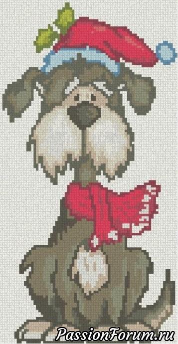 Мини вышивки к году собаки