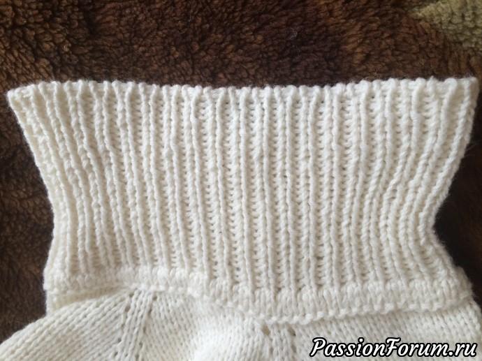 Манишка спицами, манишка, вяжем деткам, для вас женщины, вязание спицами