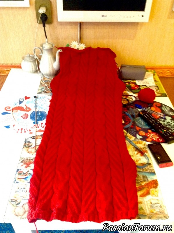 Мое красное платье