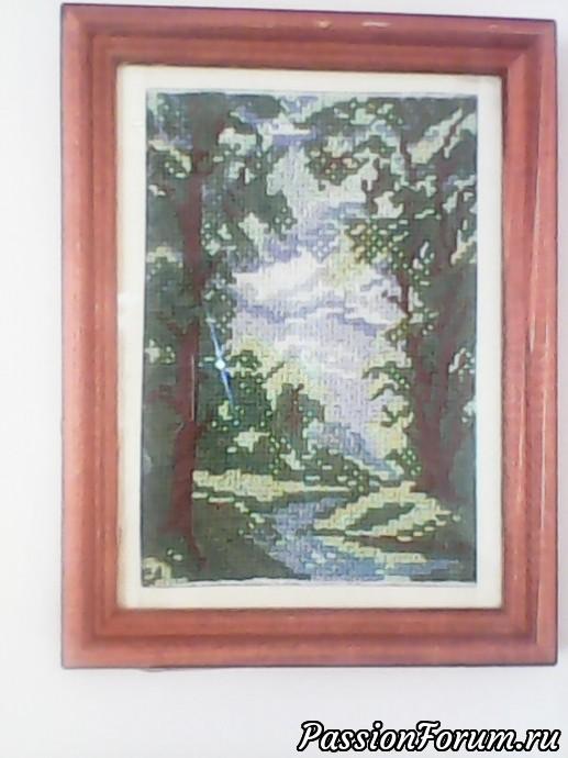 Картины крестиком, вышиваем крестиком