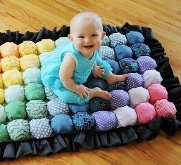 Шьем детский коврик